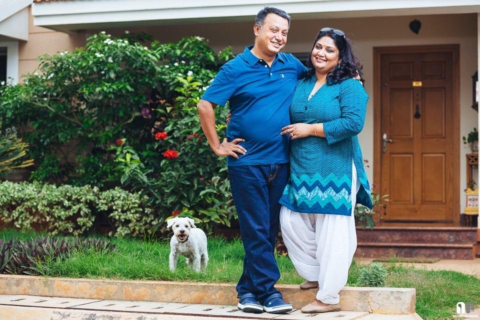 Bangalore Couple and Pet Portrait Photography