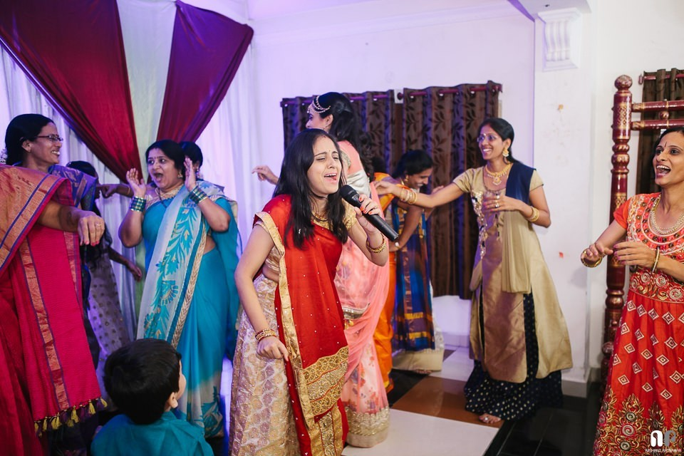 Sangeet the south Indian way