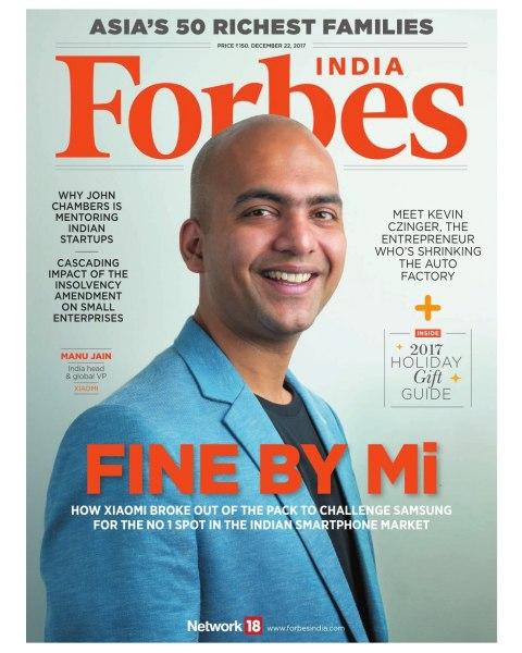 Manu Jain - Forbes India Covershot