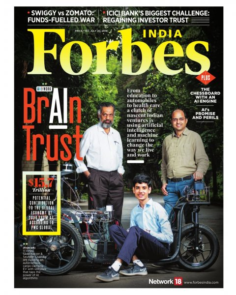 AI story Covershot for Forbes