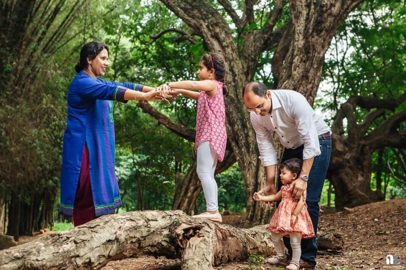 Family Portraits Cubbon Park Bangalore-0005