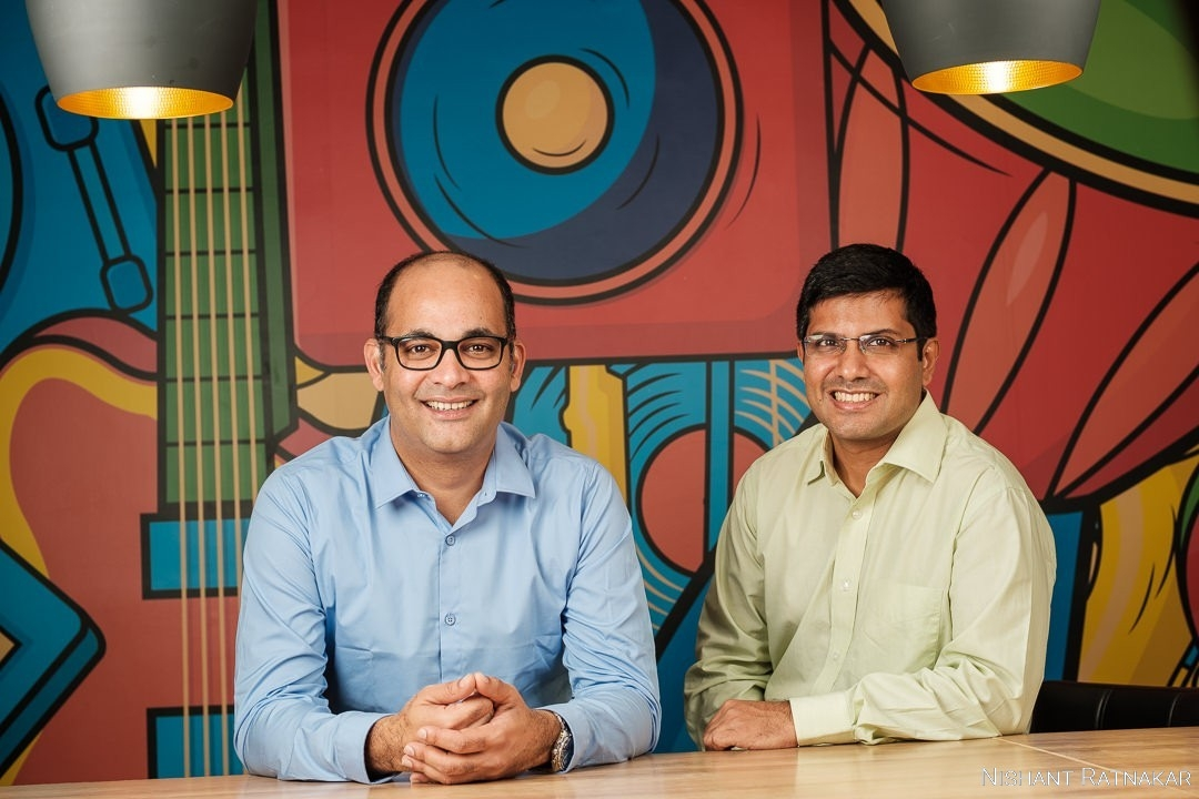 From left: Sameer Nigam, CEO and Rahul Chari, CTO of PhonePe.