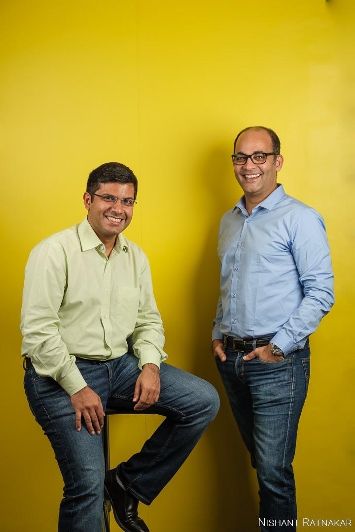 Sameer Nigam (right), CEO and Rahul Chari (left), CTO of PhonePe.