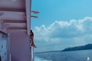 Sailing in Andaman islands