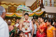 Candid Wedding Photography at Ganjam Mantapa
