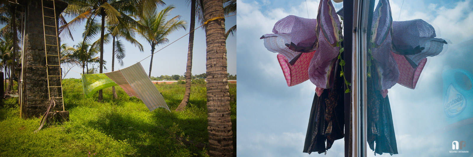 """Where the grass is green, And the skies are blue. - A Diptych from my ongoing project, """"Homeland"""""""