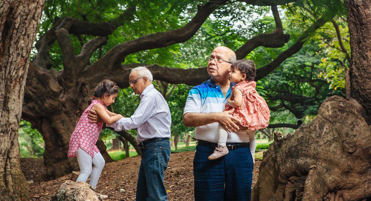 Cubbon Park Family Portraits