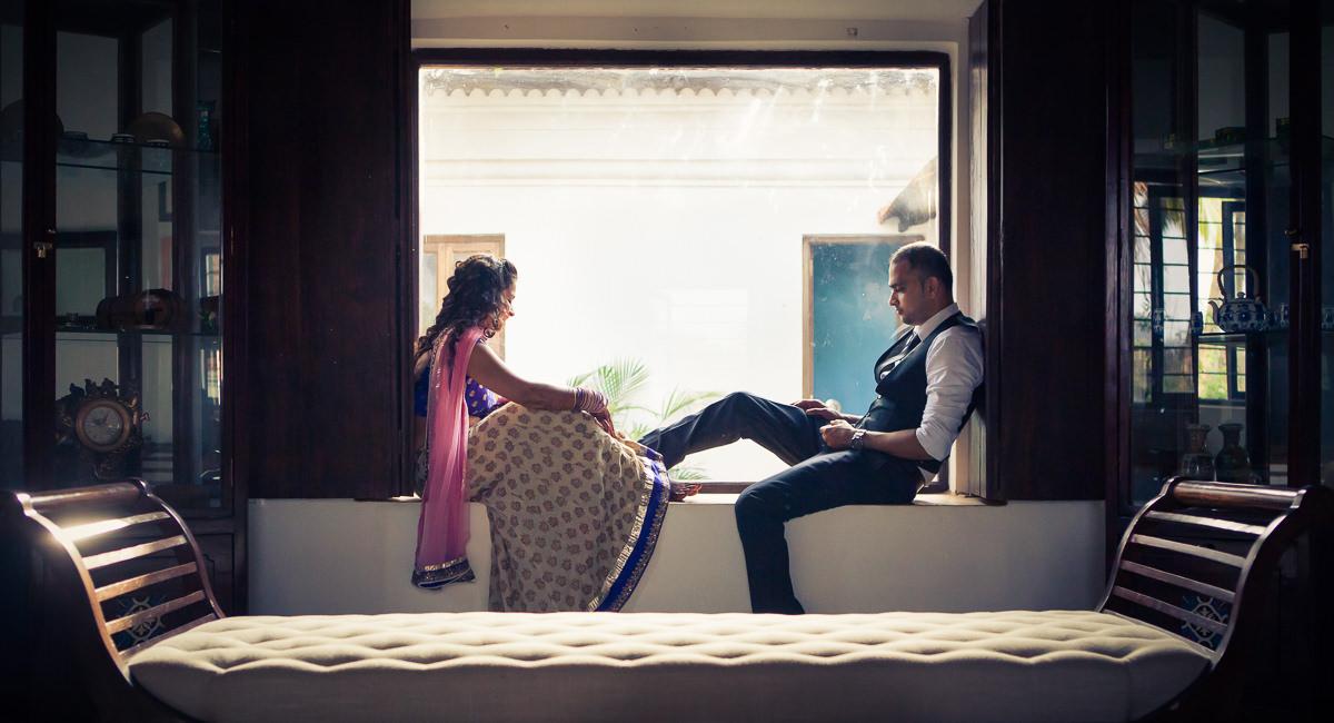 Shamala and Sagar | Arcangela Villa | Goa